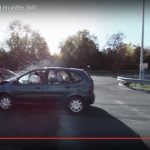 Crash-test d'un accident en vidéo 360°