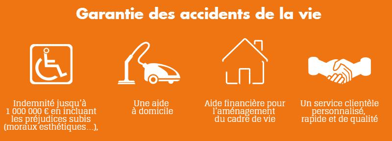 Garantie accident de la vie