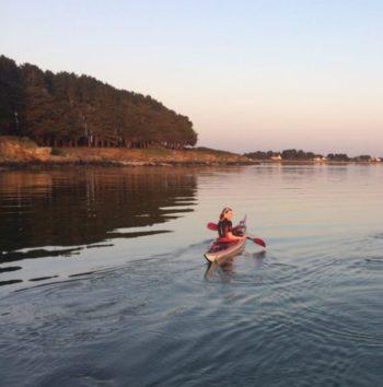 sortie kayak Morbihan