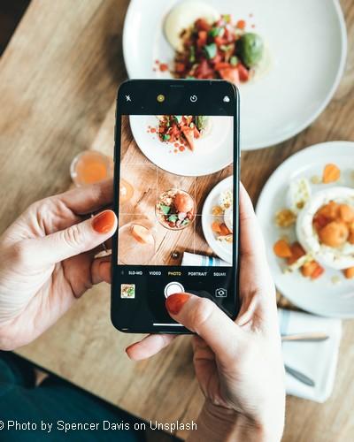 commande restaurant depuis smartphone